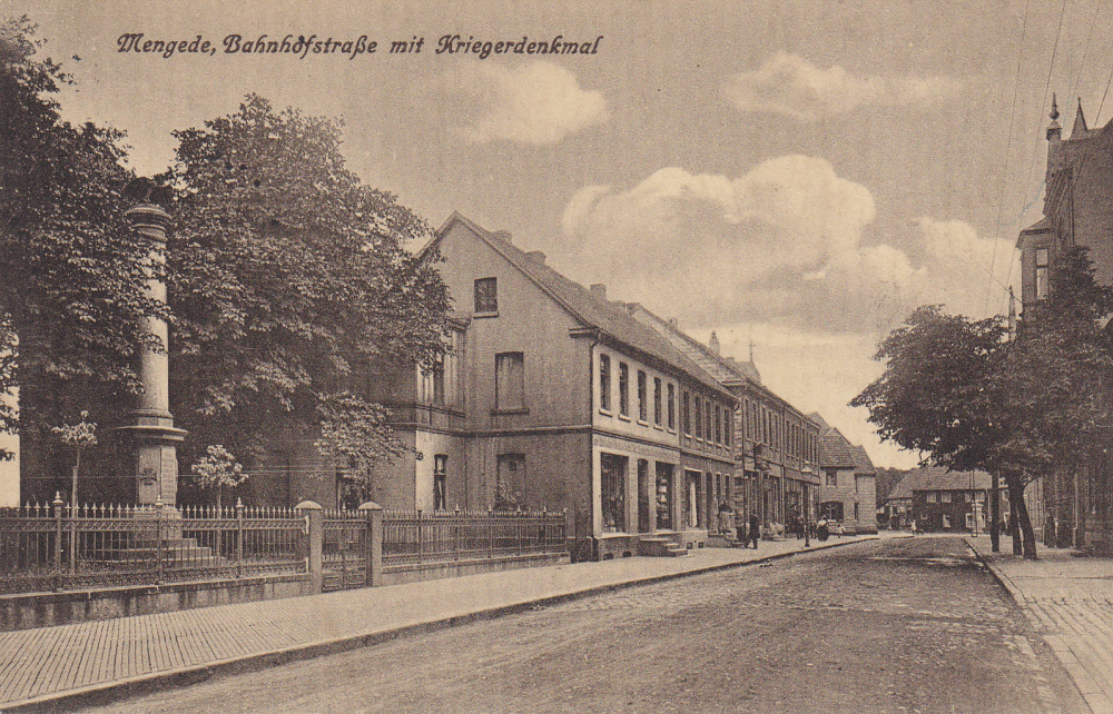Erster Standort 1873: Bahnhofstraße Heute: Mengeder Straße / Jonathanstraße
