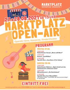 Read more about the article Ein Fest für alle wird verlegt auf den 10. u. 11.09.21