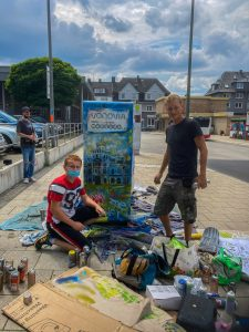 Read more about the article Graffiti-Workshop gegen Hakenkreuz-Schmierereien…