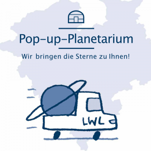 Read more about the article Fotogalerie<br>Pop-Up Planetarium in Mengede