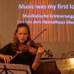 Read more about the article Online Konzert im Heimathaus – ein Blick hinter die Kulissen