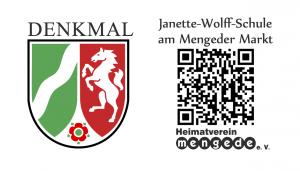 QR-Jeanette-Wolff-Schule am <br>Mengeder Markt
